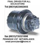 FINAL DRIVE trackmotor gearbox planetary gearbox a