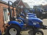 New Holland Boomer 25 hydro 4x4 minitractor